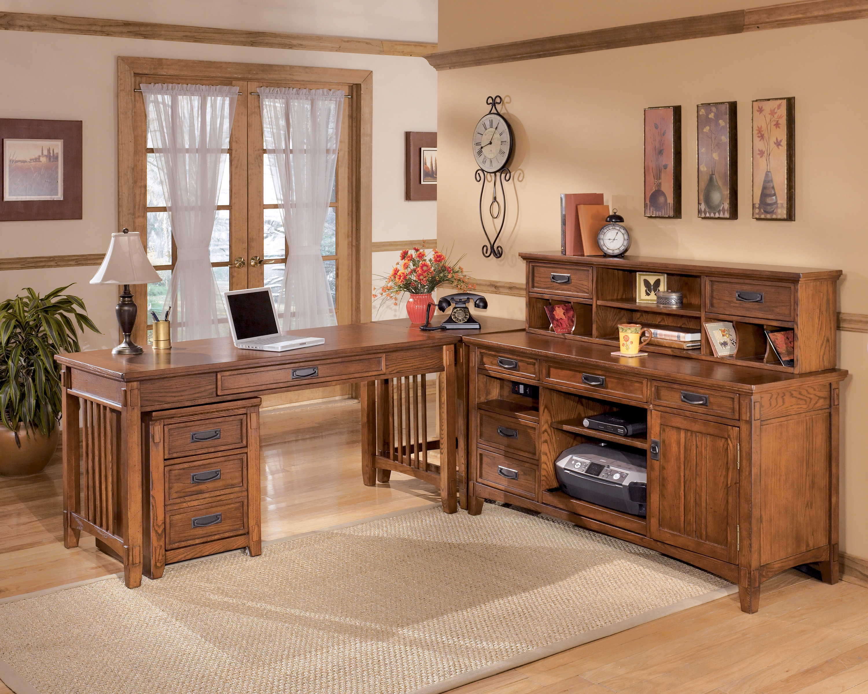 Country Style Office Furniture. Download Image: 3001×2400 (1.66mb) Country